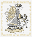 GOLD BLACKWORK ANGEL revised - Simulation