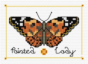 Butterfly - Painted Lady - Simulation