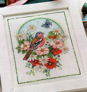 The summer chaffinch 001