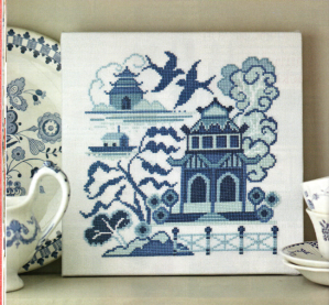 Fresh style Willow pattern 001