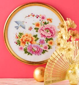 Oriental floral delight